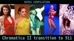 'Chromatica II transition to 911 Meme【Runway fail Compilation】'