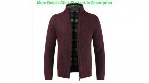 'Review Autumn and winter  new foreign trade men\'s sweater Plush coat thickened sweater men\'s loose'