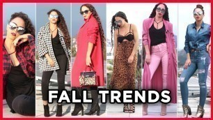 'Fall Fashion 2017 Trends & Fall Fashion Outfits - Fall Trends 2017 & Style Tips'