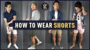 'HOW TO WEAR SHORTS for Asian Men | 5 Casual Summer Outfit Ideas (Style & Fashion Inspiration)'