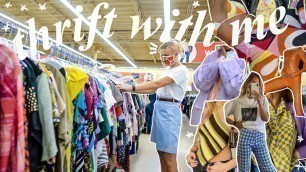 'COME THRIFT WITH ME FOR SPRING SUMMER 2021 FASHION TRENDS'
