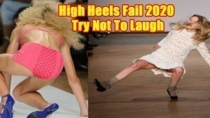 'Funny Girl Heels Fail - Try not to laugh 2020 Facts & Fun '