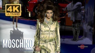 'MOSCHINO Gameshow Fall Winter 2019 / 2020 by Jeremy Scott | Full Fashion Show in 4k UHD | EXCLUSIVE'