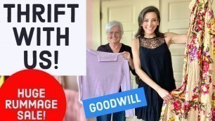 'Goodwill HAUL - Thrift With Us! Thrift Store Shopping for vintage and fashion!'